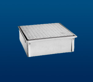 Stainless Steel counter-frames with closed plate