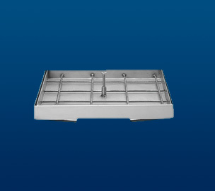 Stainless Steel counter-frames for laying paving tile